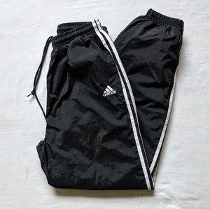 VTG adidas windbreaker pants cotton sz L or medium